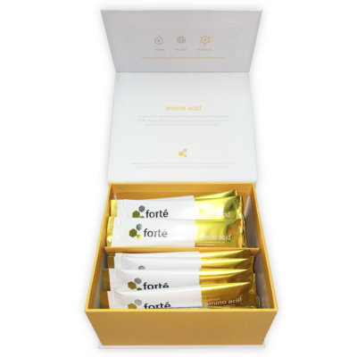 forte amino acid supplement open box