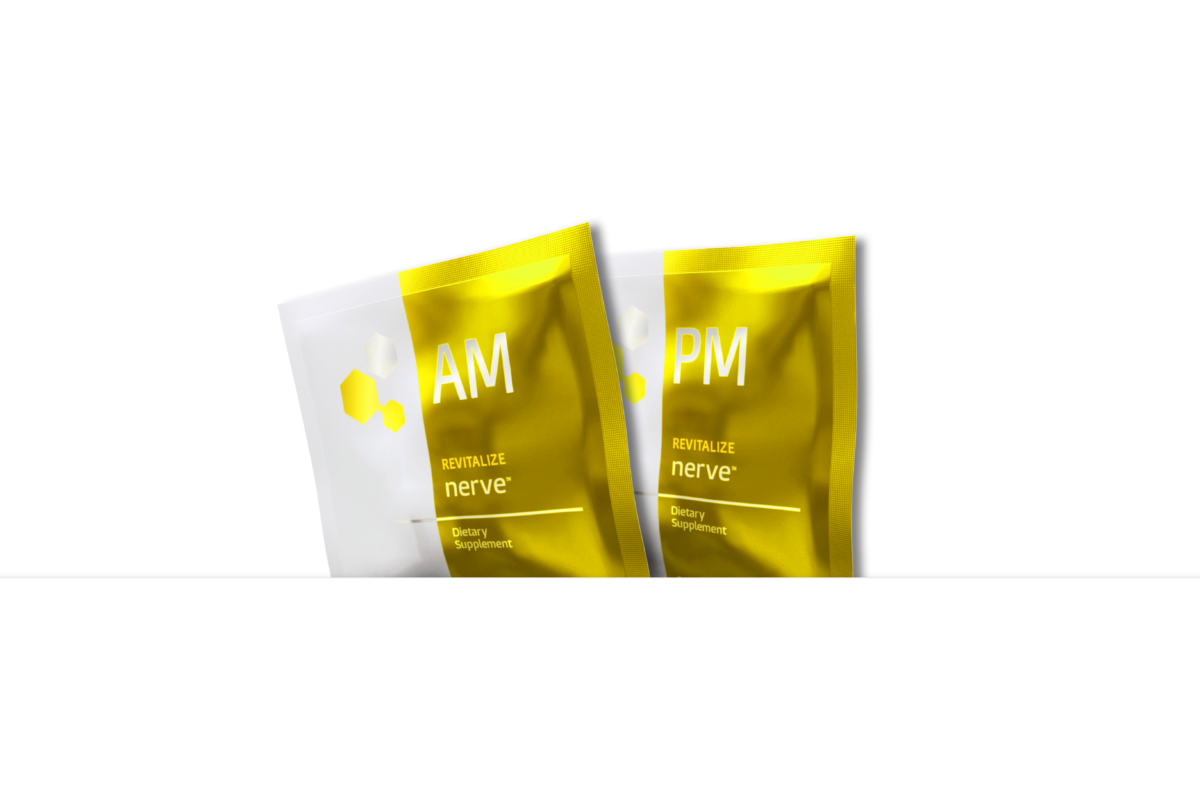 forte nervous system supplement AM and PM packages