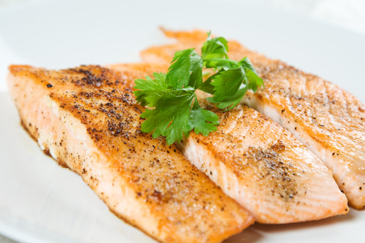 Forté Recipes: Cilantro Lime Salmon